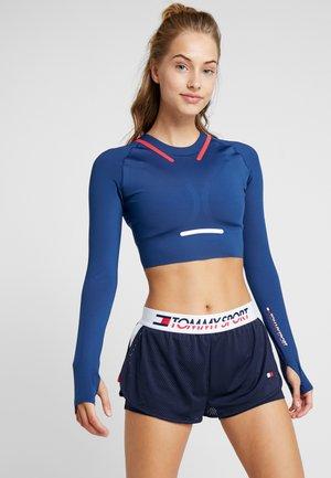 LONGSLEEVE SPORTS - T-shirt de sport - blue
