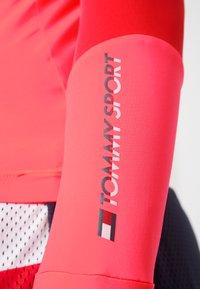 Tommy Sport - MOCK LONGSLEEVE BASELAYER - Longsleeve - pink - 6