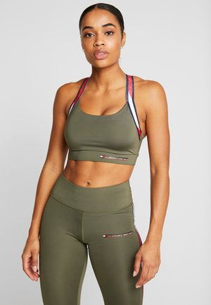 TAPE BRA MEDIUM IMPACT - Sport BH - green