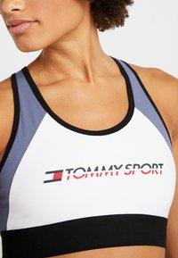 Tommy Sport - BLOCKED BRA MID - Sport BH - blue - 4