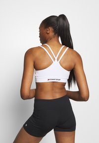 Tommy Sport - LOW SUPPORT BRA - Sport BH - white - 2