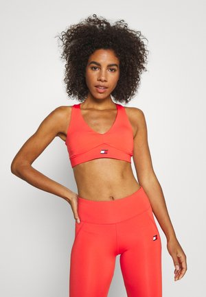 MID SUPPORT PADS TAPE BRA - Sujetador deportivo - orange