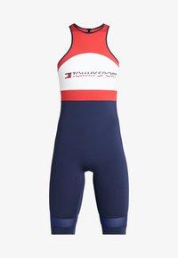 Tommy Sport - FLAG TAPE - Survêtement - blue - 6