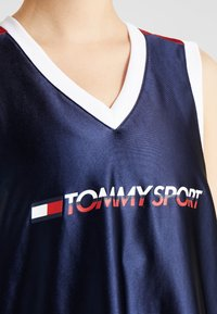 Tommy Sport - ARCHIVE DRESS LOGO - Vestido de deporte - blue - 7
