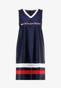 Tommy Sport - ARCHIVE DRESS LOGO - Vestido de deporte - blue - 6
