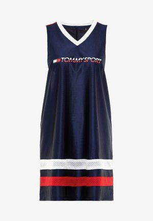 ARCHIVE DRESS LOGO - Sportkleid - blue