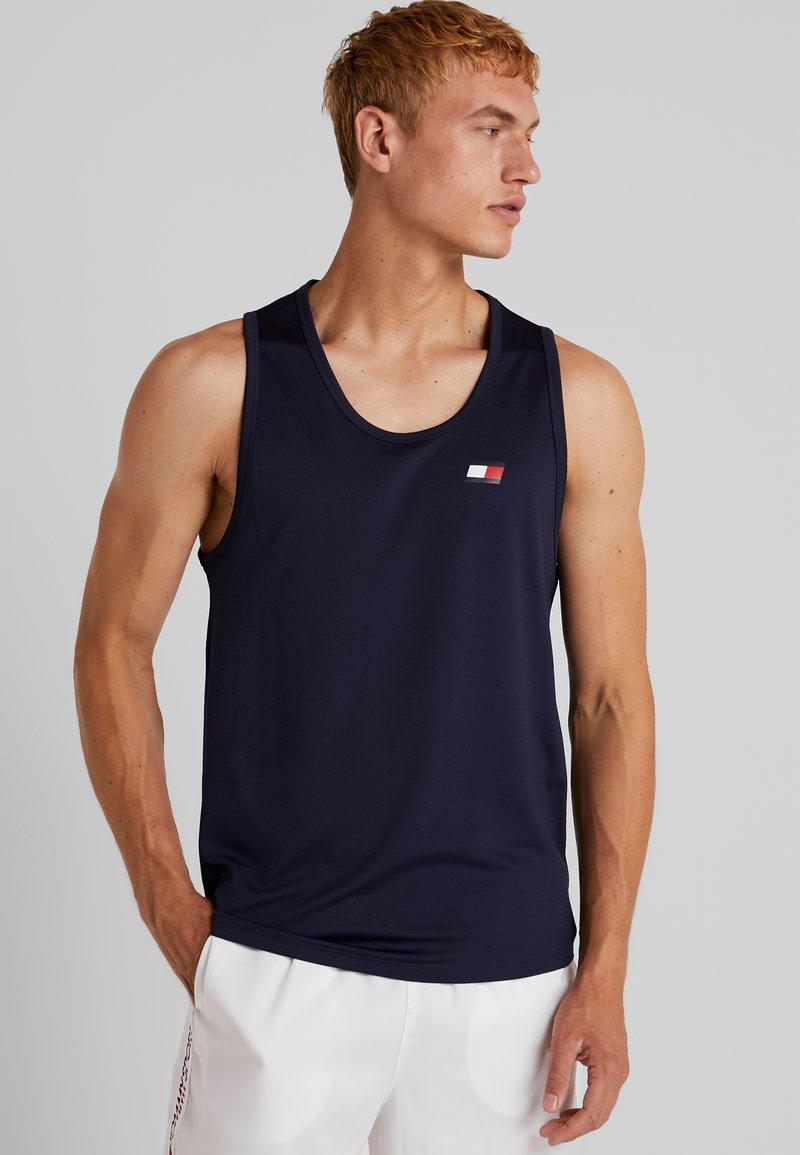 Tommy Sport - TANK BACK LOGO - Sports shirt - sport navy
