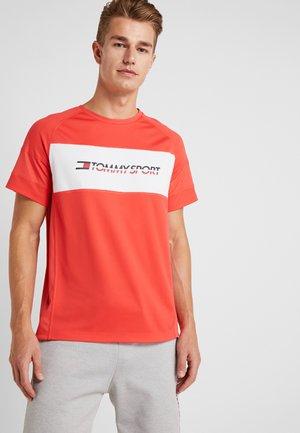 PERFORMANCE TEE - T-shirt imprimé - hibiscus