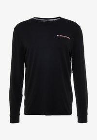Tommy Sport - LONG SLEEVE TEE - Sports shirt - black - 4