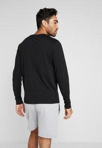 Tommy Sport - LONG SLEEVE TEE - Sports shirt - black - 2