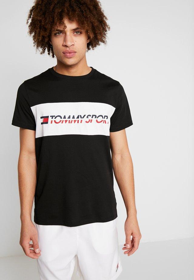 LOGO DRIVER - Print T-shirt - black