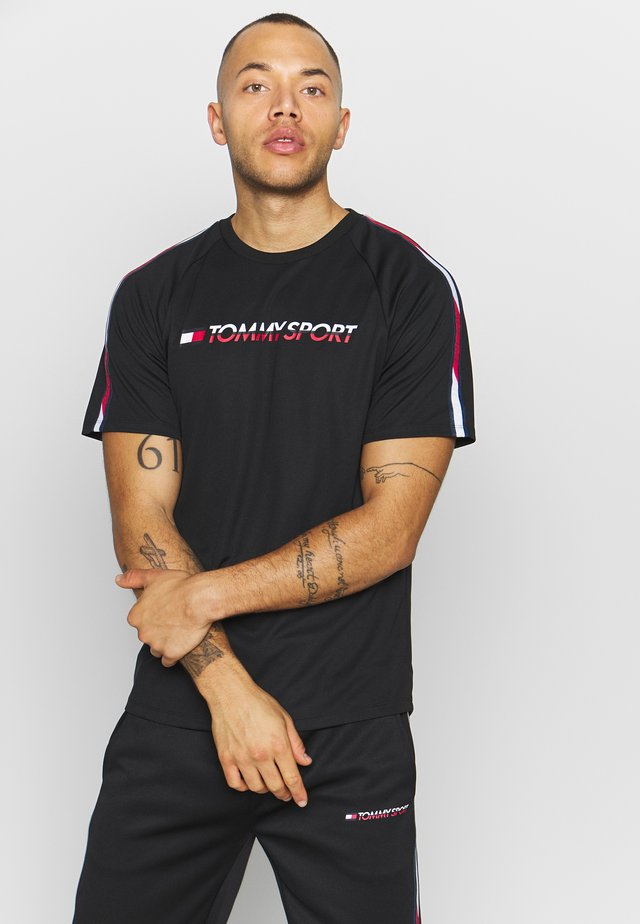 TAPE TEE - T-shirts print - black