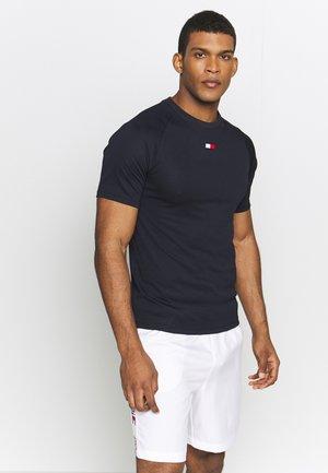 TRAINING CHEST LOGO  - T-shirts med print - blue