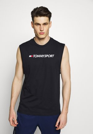 TANK LOGO - T-shirt sportiva - blue