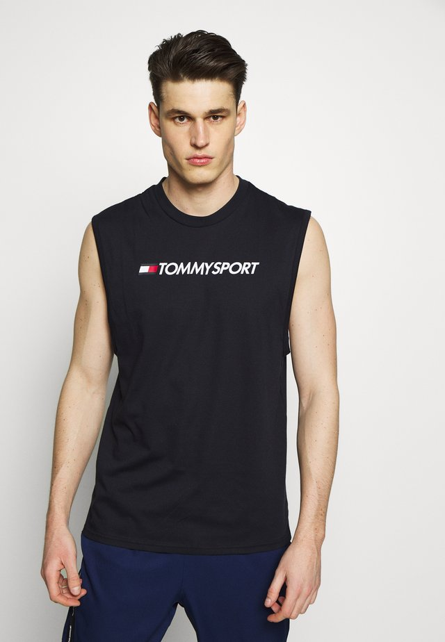 TANK LOGO - Sports shirt - blue