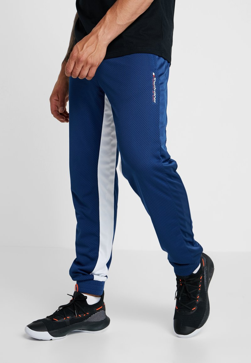 Tommy Sport - PURIST VENT TRACK PANT - Tracksuit bottoms - navy peony