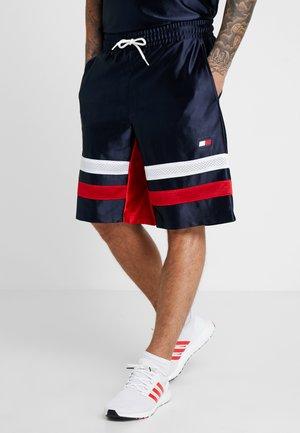RETRO BLOCKED SHORTS - Sports shorts - sport navy