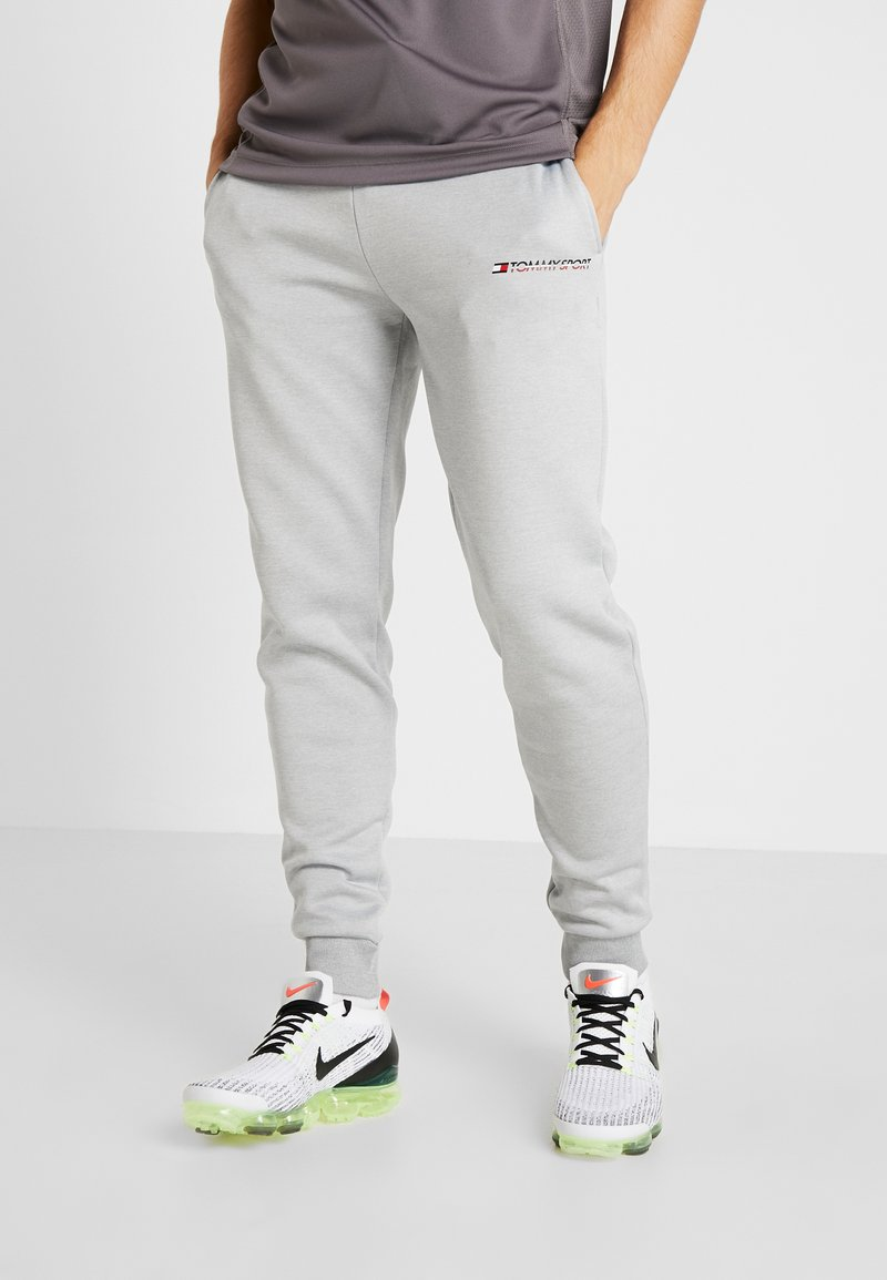 Tommy Sport - JOGGER LOGO - Trainingsbroek - grey