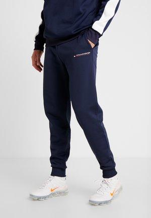 JOGGER LOGO - Pantalones deportivos - sport navy
