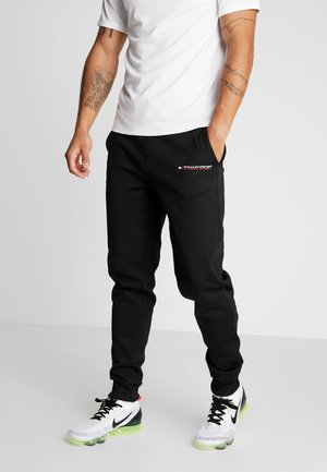 JOGGER LOGO - Trainingsbroek - black