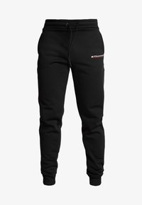 Tommy Sport - JOGGER LOGO - Tracksuit bottoms - black - 3