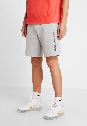 LOGO SHORT - Pantaloncini sportivi - grey heather