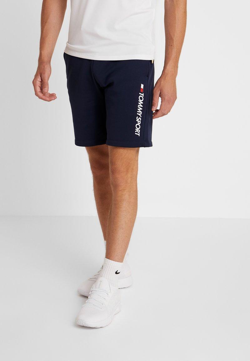 Tommy Sport - LOGO SHORT - Sports shorts - navy