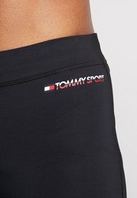 Tommy Sport - LEGGING LOGO - Leggings - black - 4