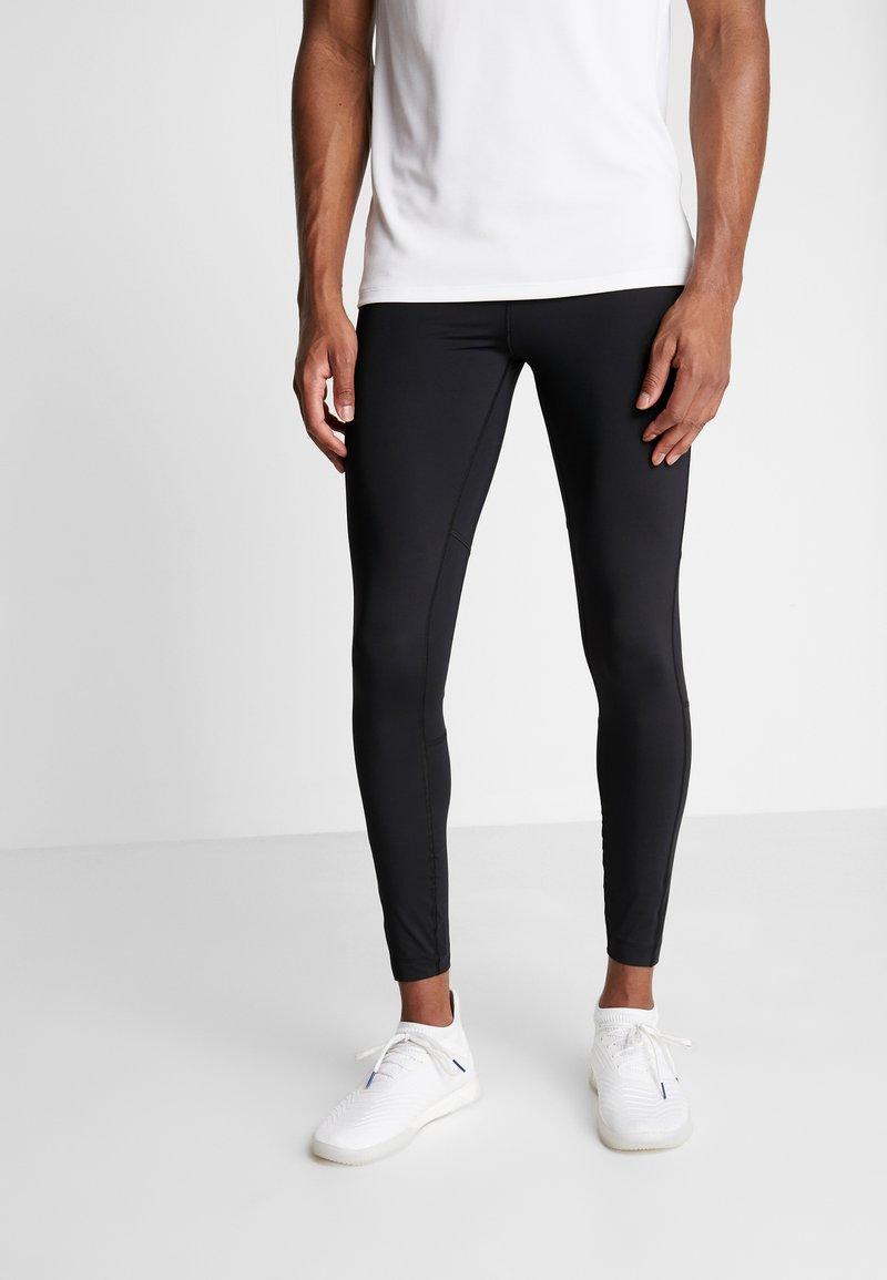 Tommy Sport - LEGGING LOGO - Leggings - black