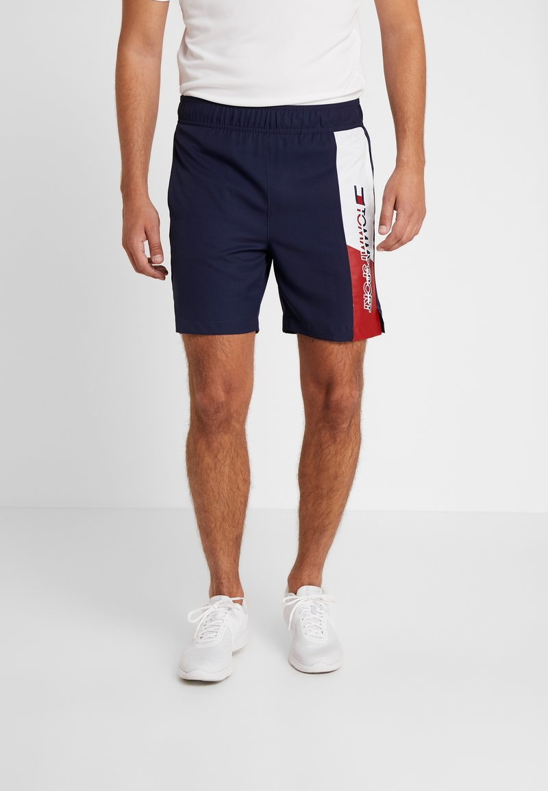 Tommy Sport - GRAPHICS SHORT - Sports shorts - sport navy