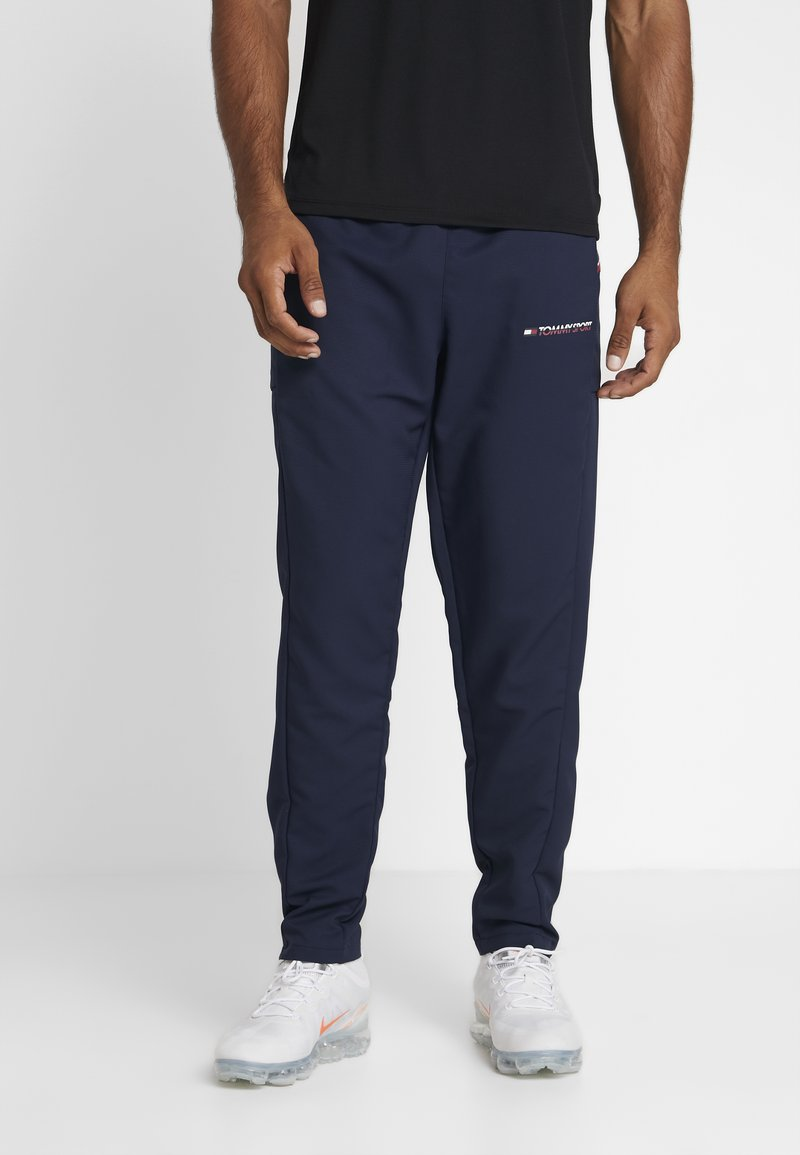 Tommy Sport - TAPE CLASSIC - Tracksuit bottoms - sport navy