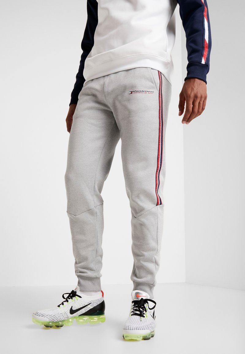 Tommy Sport - TRACK PANT - Jogginghose - grey heather