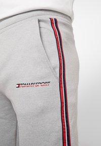 Tommy Sport - TRACK PANT - Trainingsbroek - grey heather - 3