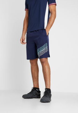 GRAPHICS SHORTS - Sports shorts - blue