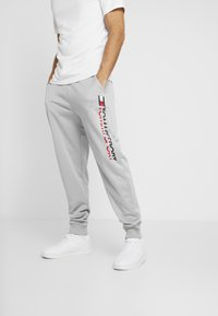 Tommy Sport - LOGO - Pantalon de survêtement - grey heather - 0
