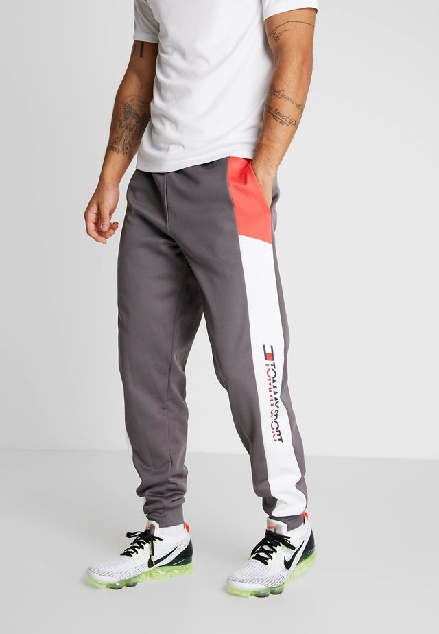 REFLECTIVE PANT CUFF - Tracksuit bottoms - grey
