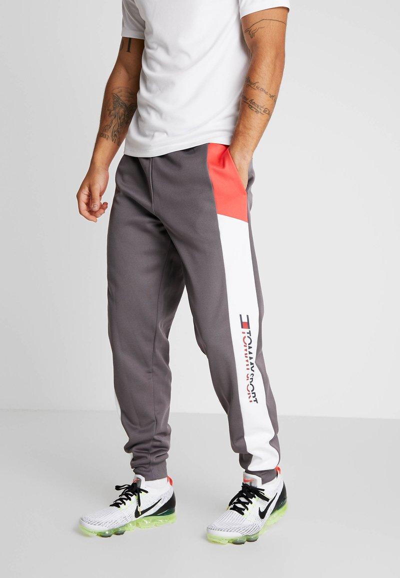 Tommy Sport - REFLECTIVE PANT CUFF - Trainingsbroek - grey