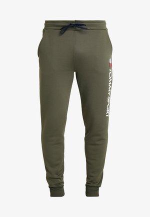 LOGO  - Pantalon de survêtement - green