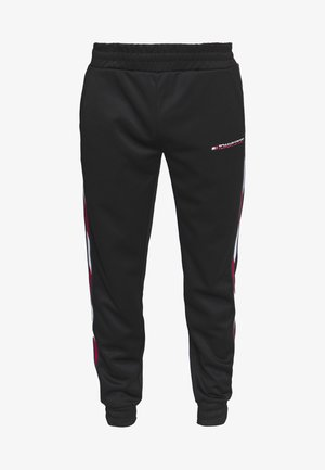 TAPE TRACK PANT - Teplákové kalhoty - black