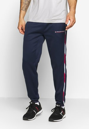 TAPE PANT CUFFED - Tracksuit bottoms - blue