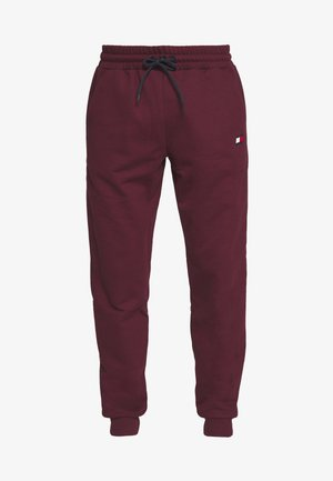 CUFF JOGGER LOGO - Teplákové kalhoty - purple