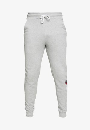 CUFF FLEECE PANT LOGO - Trainingsbroek - grey