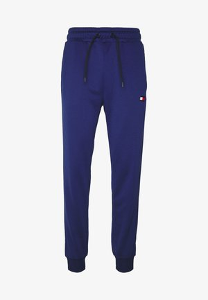 PRINTED CUFFED TRACK PANT - Pantalones deportivos - blue