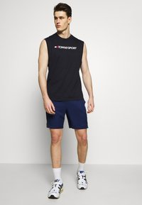 Tommy Sport - TAPE SHORT - Korte broeken - blue - 1