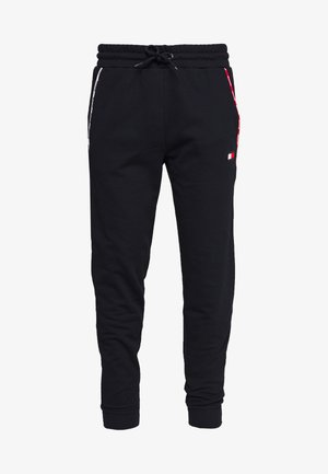 PIPING CUFFED PANT - Tracksuit bottoms - blue