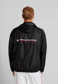 Tommy Sport - CORE  - Veste coupe-vent - black - 0