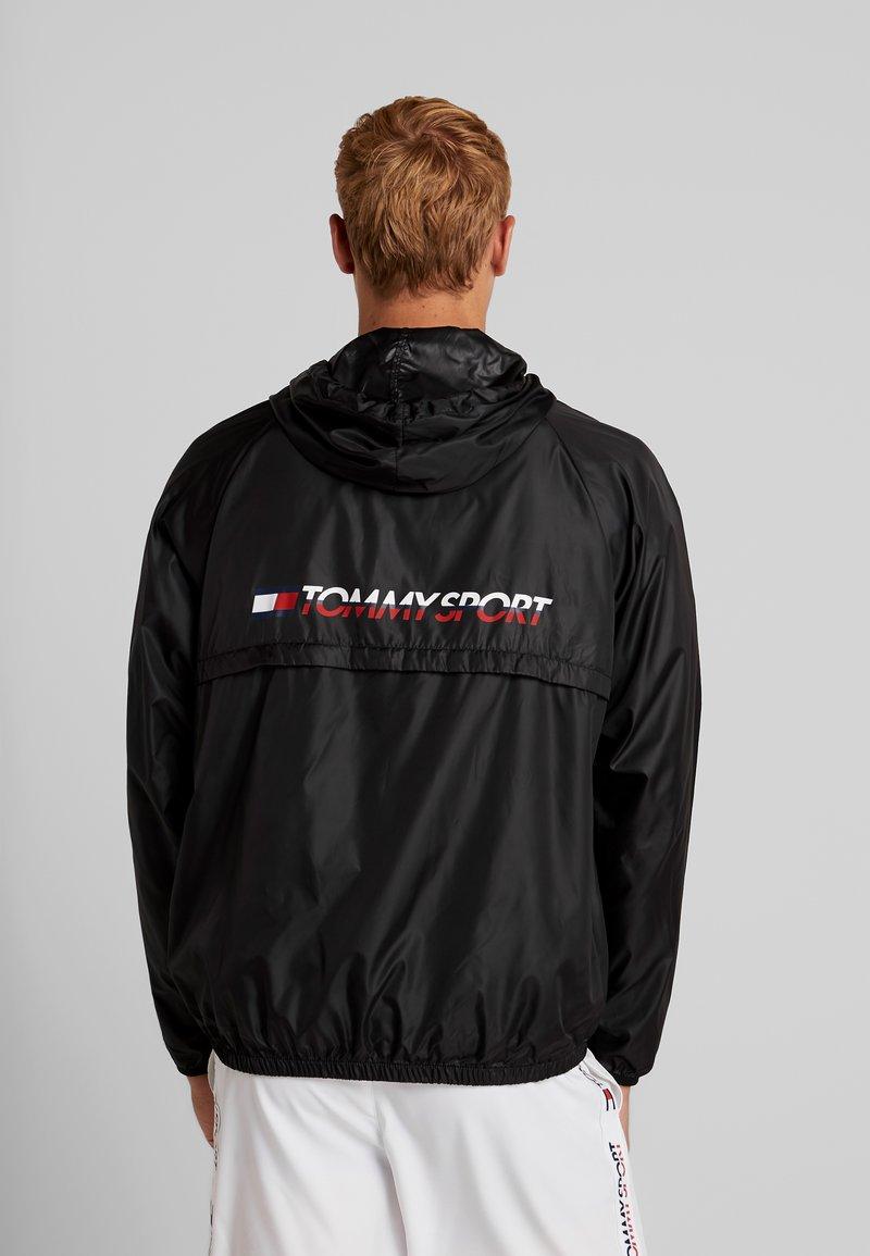 Tommy Sport - CORE  - Veste coupe-vent - black