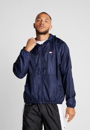 LINED WINDBREAKER - Veste de survêtement - blue