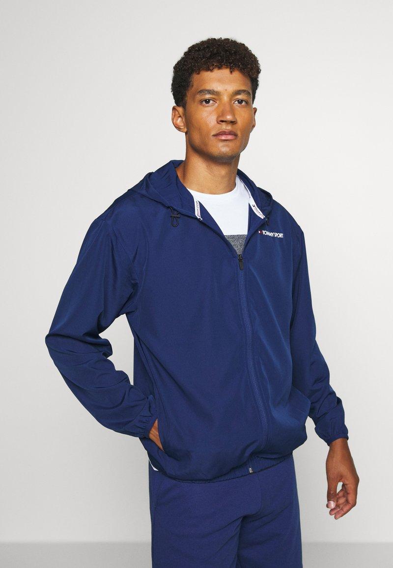 Tommy Sport - LOGO - Veste coupe-vent - blue