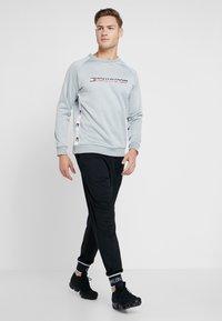 Tommy Sport - TAPE CREW LOGO - Sweatshirt - grey heather - 1